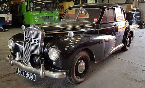 Wolseley 6/80 Police Car